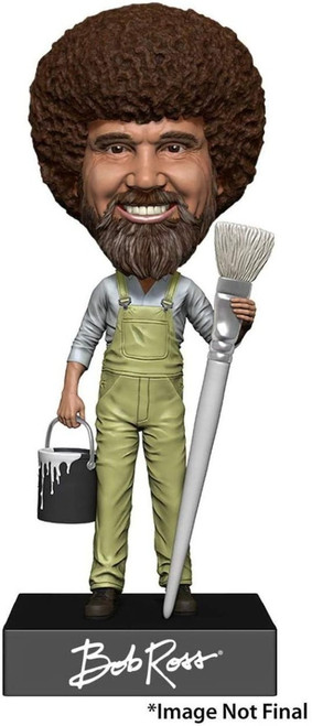 Head Knockers Hand Painted The Joy of Painting Bob Ross Neca 92016