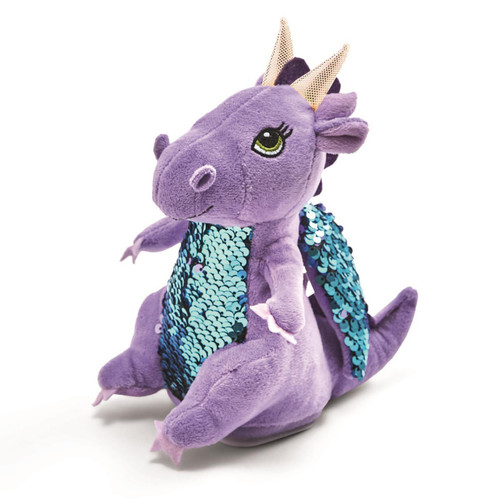 Two's Company Plush Dragon Girl Speak Repeat 79599