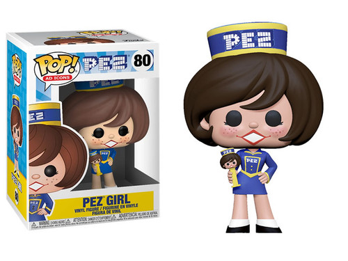 Pop Ad Icons 80 PEZ Girl (Brunette) figure Funko 32320