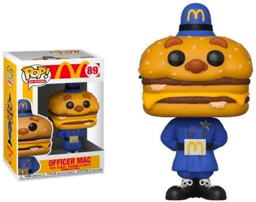 Pop Ad Icons McDonalds 89 Officer Mac figure Funko 57262