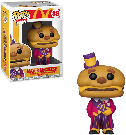 Pop Ad Icons! McDonald's Mayor MacCheese 88 Funko 57255