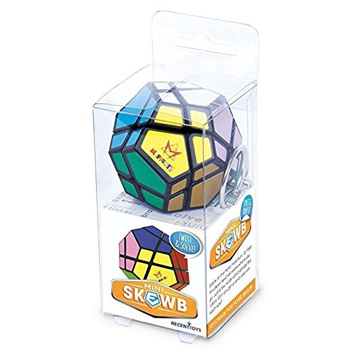 Mini Mefferts Keychain Mini Skewb Puzzle 06880