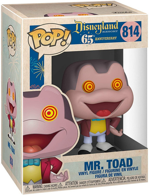 Pop Disney 65 Disney Mr. Toad Spinning Eyes Funko figure 11728