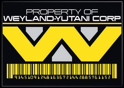 Alien Movie Weyland Yutani Corp Photo Magnet Ata Boy 37308