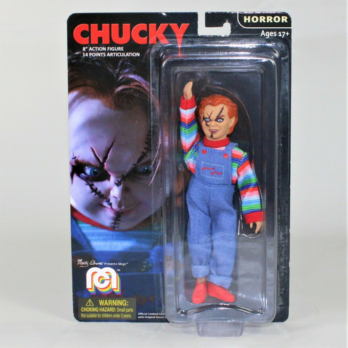 """Mego Monsters Chucky Child's Play 8"""" Action Figure 11917"""
