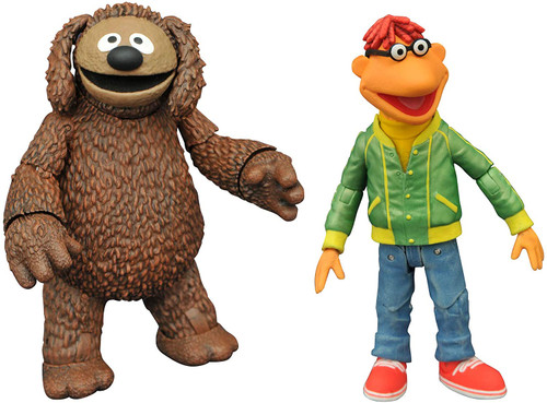 The Muppets Best of s1 Scooter & Rowlf Figure Two-Pack Diamond 43109