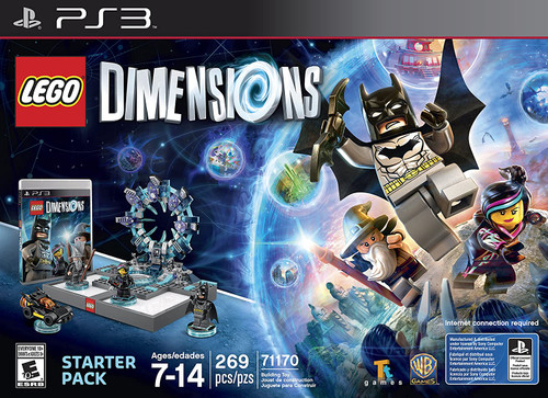 LEGO Dimensions Starter Pack - PlayStation 3 71170 269 pcs