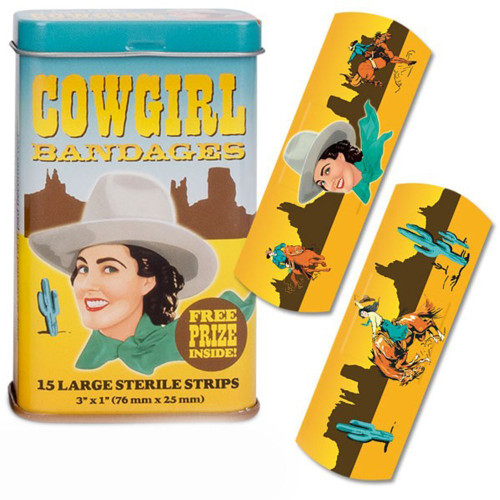 Accoutrements Cowgirl Bandages 15pcs 26167