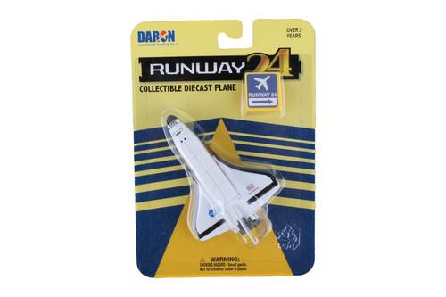 Daron Runway24 Space Shuttle No Runway Diecast vehicle\plane 58415