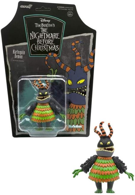 ReAction Nightmare Before Christmas Harlequin Demon figure Super 7 08355