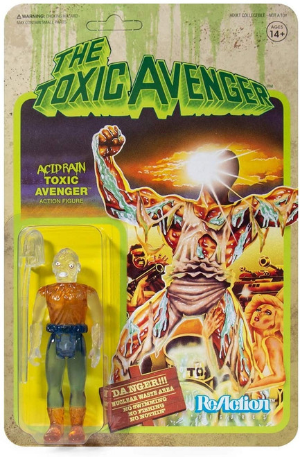 Toxic Avenger ReAction Ghost of Toxic Avenger figure Super 7 06290