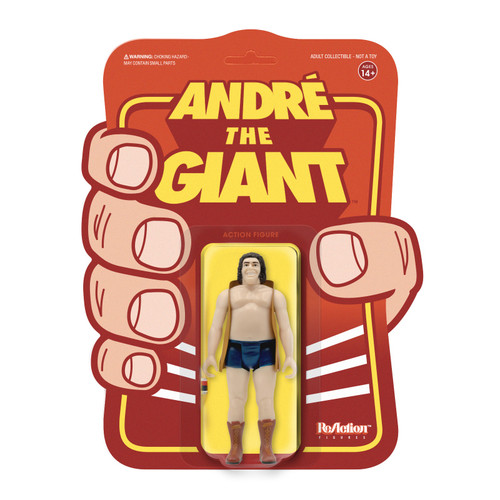 WWE Andre The Giant ReAction- Andre Vest figure Super 7 06849