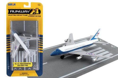 Daron Runway24 Air Force One Boeing 747 Diecast vehicle\plane 57524