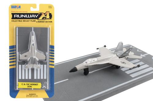 Daron Runway24 F/A-18C Military Diecast vehicle\plane 57685