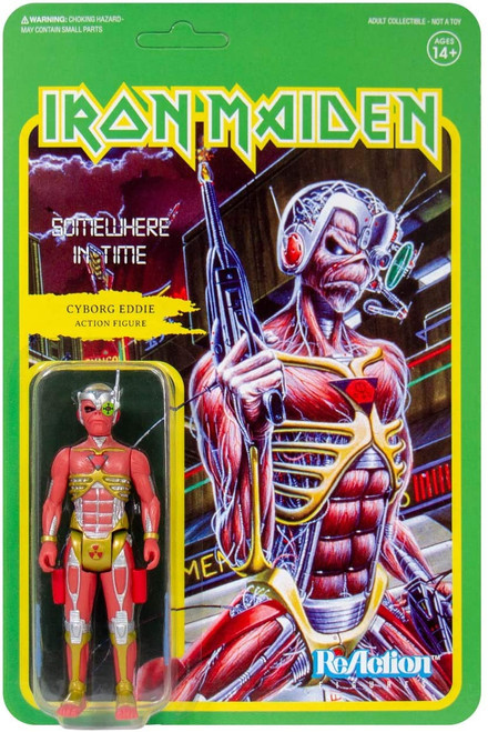Iron Maiden ReAction Somewhere In Time figure Super 7 00786