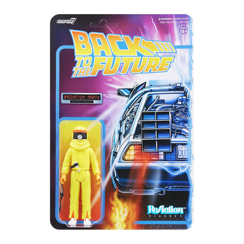 Back To The Future ReAction Figure Wave 2 Radiation Marty figure Super 7 08829