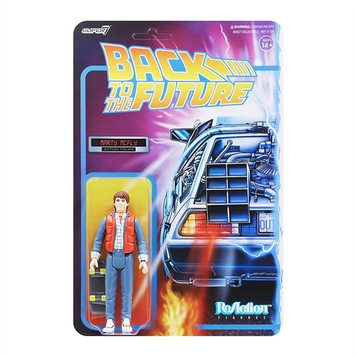 Back To the Future ReAction Wave 2 Marty McFly figure Super 7 08010