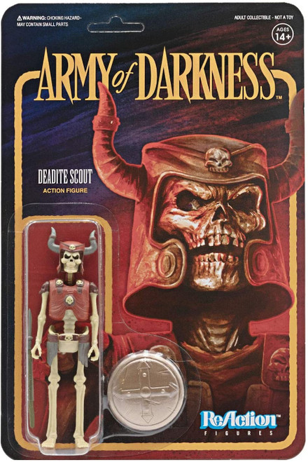 Army Of Darkness ReAction Deadite Scout figure Super 7 38953
