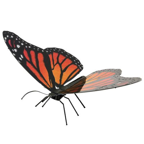 Metal Earth Monarch Butterfly 3D Model  + Tweezers 11234