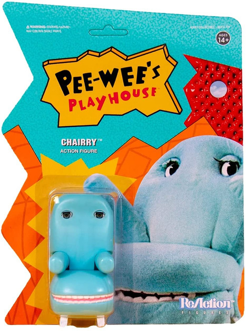 Pee Wee's Playhouse ReAction Chairry figure Super 7 32173