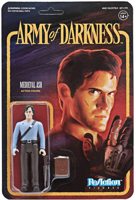 Army Of Darkness ReAction Medieval Ash figure Super 7 38915