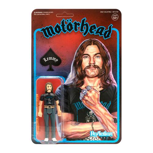 Motorhead ReAction-Lemmy (Recolor) version 2 figure Super 7 09574