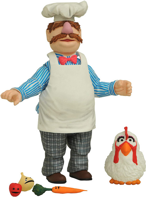 The Muppets Best of s2 Swedish Chef with Kitchen Figure Diamond 43130