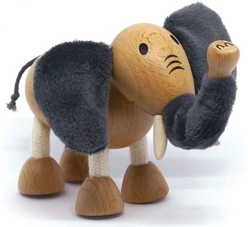 Anamalz Elephant Wooden Animal Toy 17646