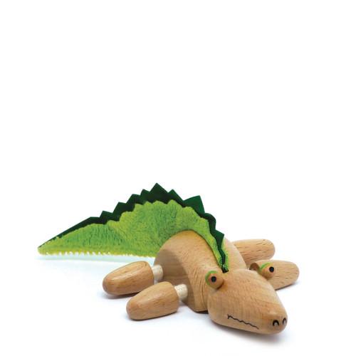 Anamalz Crocodile Wooden Animal Toy 17653