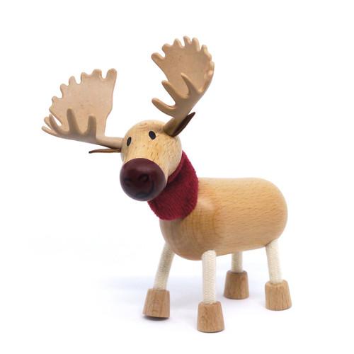 Anamalz Moose Wooden Animal Toy 17899