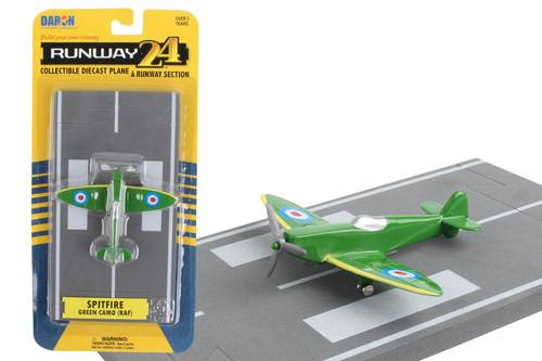 Daron Runway24 Spitfire Camoflage Diecast vehicle\plane 57937