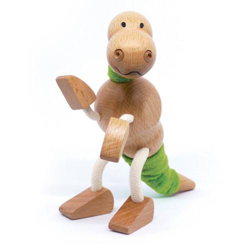 Anamalz Tyrannosaurus Rex Wooden Animal Toy 17868
