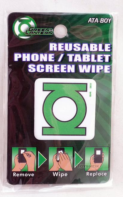 DC Reusable Phone Tablet Screen Wipe Green Lantern Logo by Ata-Boy 300618