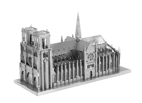 ICONX Notre Dame de Paris 3D Laser Cut Model Fascinations 013030