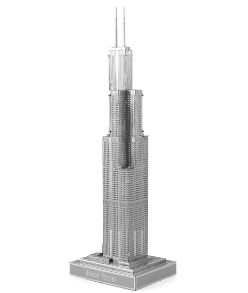 ICONX Sears Tower 3D Laser Cut Model Fascinations 013139