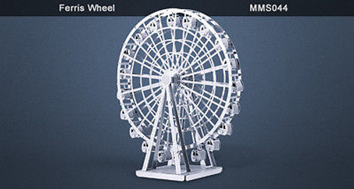 Metal Earth Ferris Wheel 3D Metal  Model + Tweezer  010442