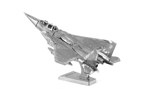 Metal Earth F-15 Eagle 3D Metal  Model + Tweezer  010824