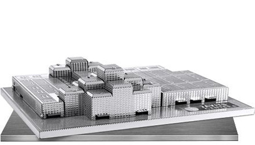 Metal Earth Javits Convention Center 3D Metal  Model + Tweezer  010732