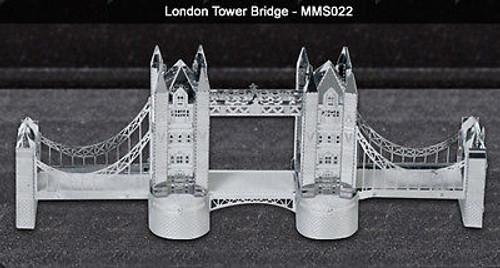Metal Earth London Tower Bridge 3D Metal  Model + Tweezer  010220
