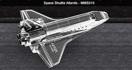 Metal Earth Space Shuttle Atlan 3D Metal  Model + Tweezer  010152