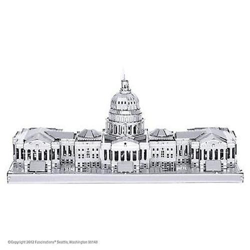 Metal Earth United States Capital 3D Metal  Model + Tweezer  010541