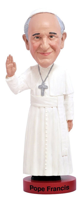 Royal Bobbles Pope Francis bobblehead figure 010115
