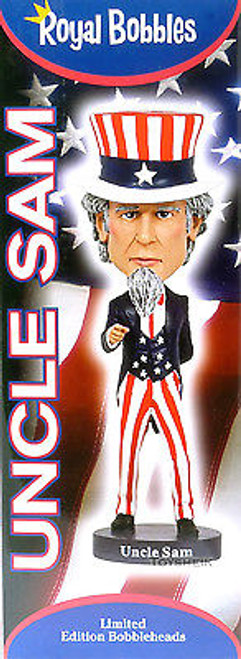 Royal Bobbles Uncle Sam bobblehead figure 010283