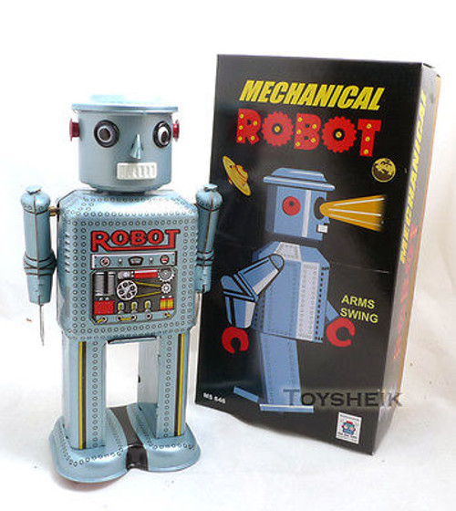 Shylling Collectors Series Mechanical Robot ms646 229895