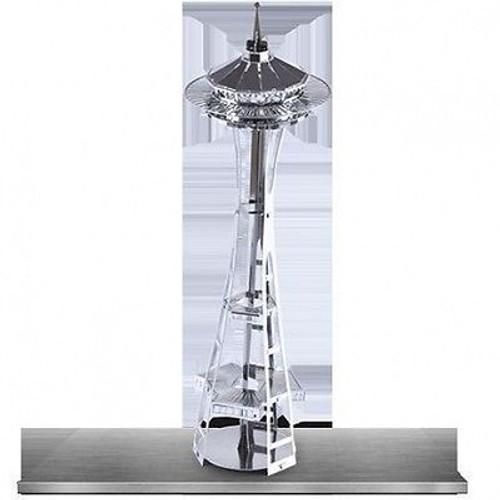 Metal Earth Seattle Space Needle 3D Metal  Model + Tweezer  010145