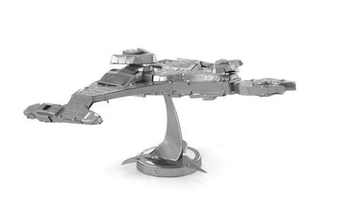 Metal Earth Star Trek TNG Klingon Vor'cha Class 3D Metal  Model + Tweezer 012835