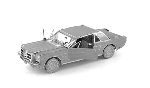 Metal Earth 1965 Ford Mustang 3D Metal  Model + Tweezer  010565
