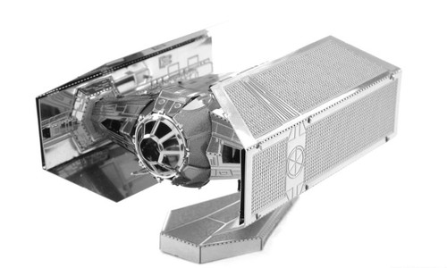 Metal Earth Star Wars Vader's Tie Fighter 3D Metal  Model + Tweezer  012538