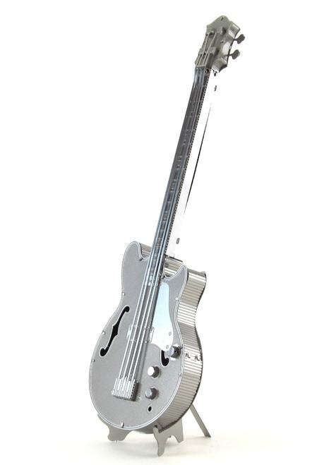 Metal Earth Electric Bass Guitar 3D Metal  Model + Tweezer  010756
