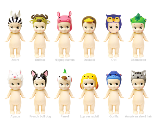 Sonny Angel Series 3 Animal collection 12 piece PDQ Dreams 650509